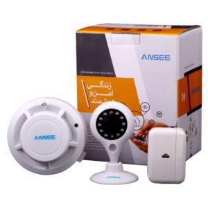 دزدگیر هوشمند برند ANSEE با دوربین ثابت
